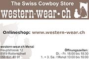 Inserat Western Wear
