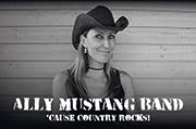 Inserat Ally Mustang Band